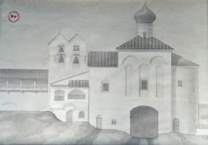 Russische Architekturgrafiken – Ein Vegesacker zeigt seine Schätze aus Sibirien
