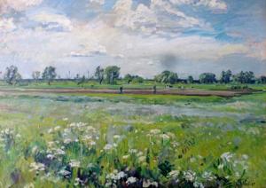 Hans Theodor_Hallier Maler aus Mittelsbüren
