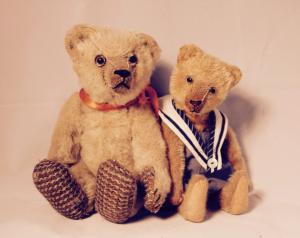 Weihnachtsaustellung Teddybären von Magdaléna Farnesi